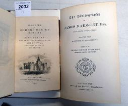MEMOIRS OF GEORGE HERIOT JEWELLER TO KING JAMES VI WITH AN HISTORICAL ACCOUNT OF THE HOSPITAL