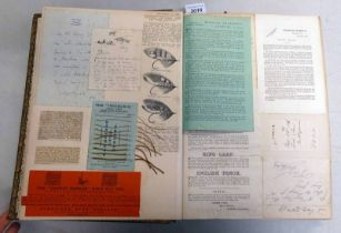 LEATHER BOUND ALBUM EX LORD INVERURIE'S RELATING TO FISHING WITH AMATEUR PHOTOGRAPHS,