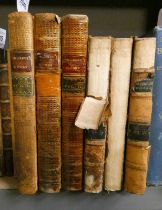 THE WORKS OF MR WILLIAM CONGREVE, IN 3 FULLY LEATHER BOUND VOLUMES - 1761,