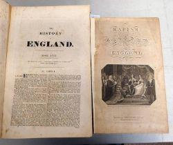 THE HISTORY OF ENGLAND BY RAPIN DE THOYRAS,