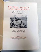 BRITISH SPORTS AND SPORTSMEN, BIG GAME HUNTING AND ANGLING...