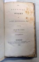 THE POETICAL WORKS OF JAMES MACPHERSON, ESQ.