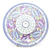 A Crown Ducal Charlotte Rhead design charger, pattern number 5391