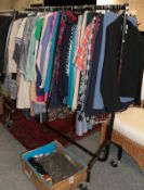 Large quantity of Jaeger ladies clothing, circa 1970s and later crimplene and other costume,