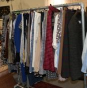 Large quantity of mainly Jaeger ladies clothing, comprising skirts, shirts, jackets, knitwear,