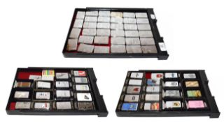 ~ A collection of Zippo lighters, various themes (3 trays)