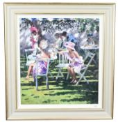 Sherree Valentine Daines (b.1956) ''Champagne in the Shadows'' Signed and numbered 70/195, giclee