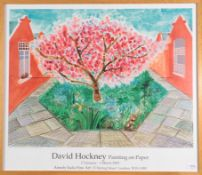 After David Hockney OM, CH, RA (b.1937) ''Painting on Paper'', 17th January - 1st March 2003