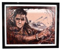 Pete Humphreys (Contemporary) ''Mad Max'' Signed, oil on canvas, 70cm by 90cm Artist's Resale