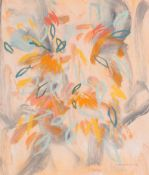 Irene Lesley Main (b.1959) Scottish ''Summer Flowers'' Signed and dated 1987, mixed media, 35cm by
