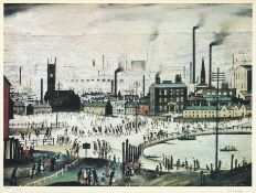 After Laurence Stephen Lowry RBA, RA (1887-1976) ''An Industrial Town'' Signed and numbered 412/500,