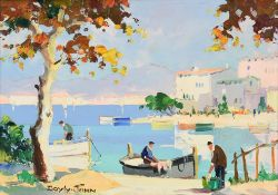 Cecil Rochfort D'Oyly John (1906-1993) ''Cannes, Near Summer Casino, South of France'' Signed,