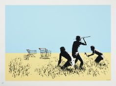 Banksy (b.1973) ''Trolleys'' Signed and numbered 510/750, with the publisher's blindstamp,