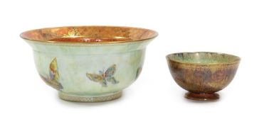 A Wedgwood Fairyland Ordinary Lustre Bowl, designed by Daisy Makeig-Jones, decorated with