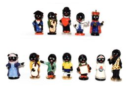 A collection of eleven Carlton Ware Robinson's Preserve advertising figures together with another