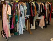 Quantity of assorted mainly ladies costume, to include theatrical costume of Tudor, Victorian,