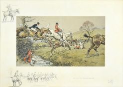 Charles Johnson Payne ''Snaffles'' (1884-1967) ''Prepare to receive Cavalry'' Signed, with the