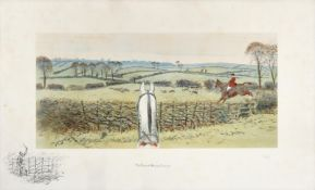 Charles Johnson Payne ''Snaffles'' (1884-1967) ''The Finest View in Europe'' Signed in pencil,