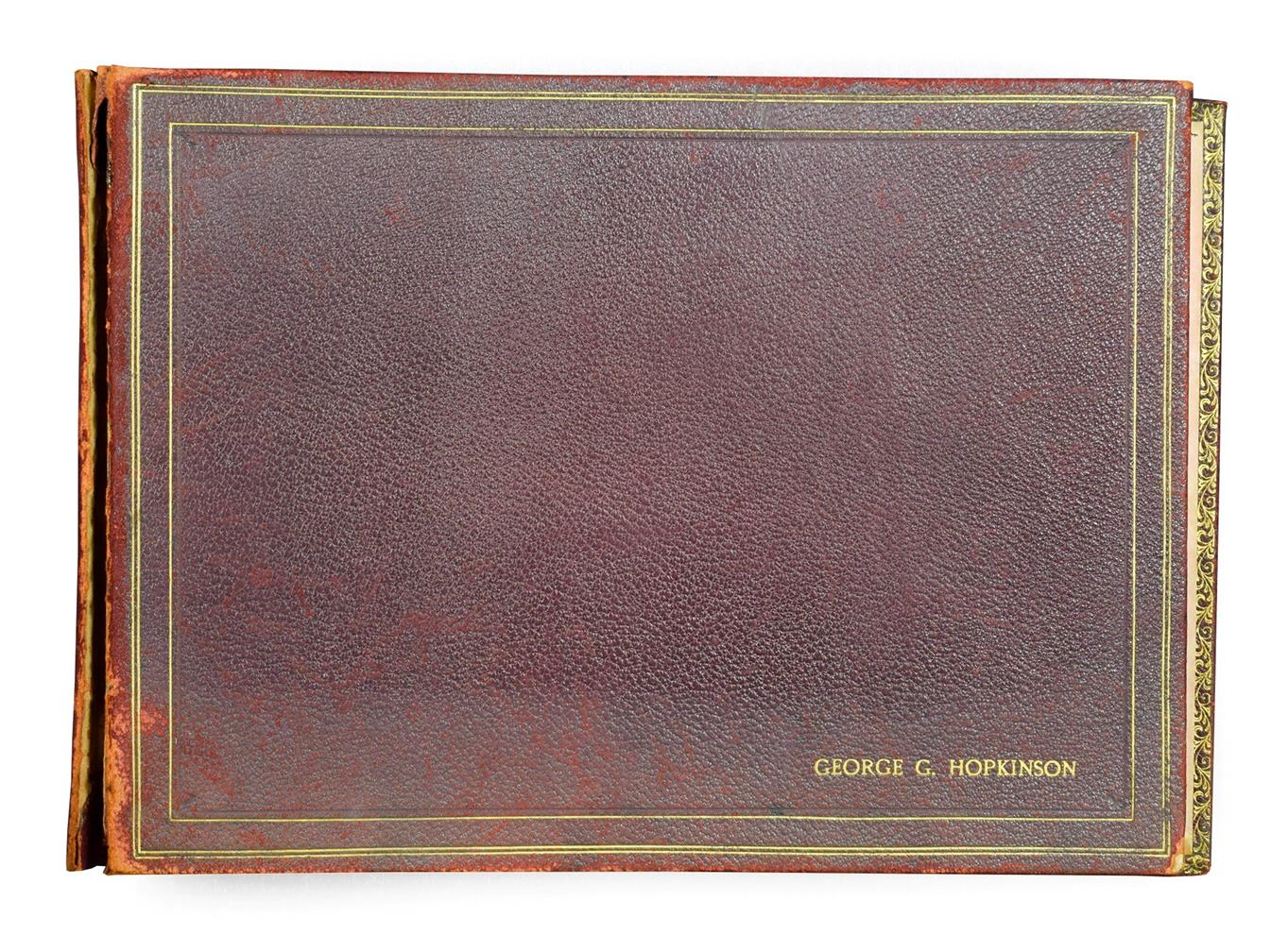 Frederick (Fred) Lawson (1888-1968) A sketchbook containing 19 works on paper to include ''