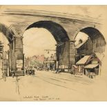 Frederick (Fred) Lawson (1888-1968) ''Kirkstall Road, Leeds'' Signed, inscribed and dated Oct 1st