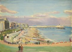 Valerie Sozonov (1899-1960) British/Russian ''Eastbourne'' Signed and dated 1933, inscribed verso,