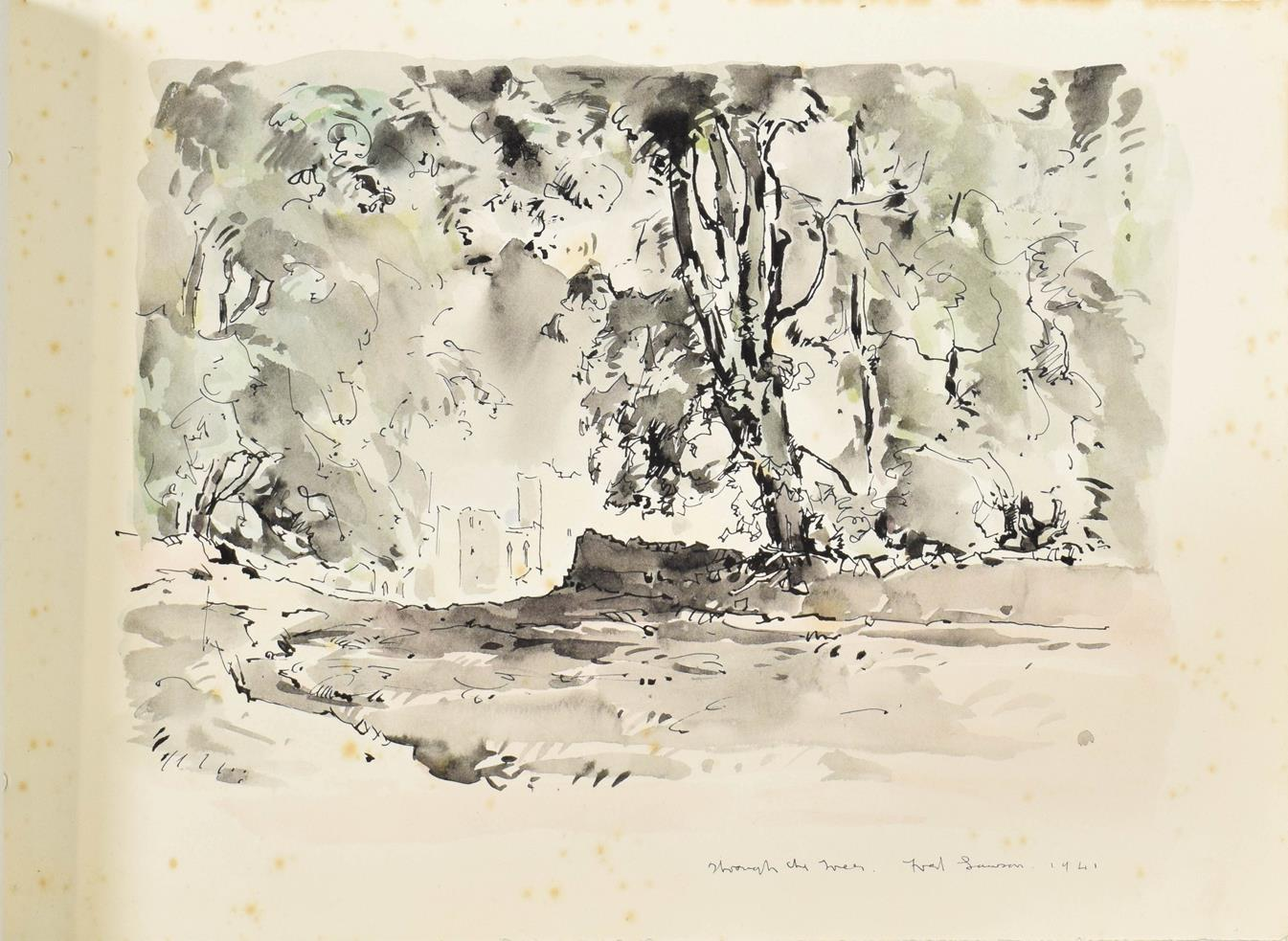 Frederick (Fred) Lawson (1888-1968) A sketchbook containing 19 works on paper to include '' - Image 5 of 13