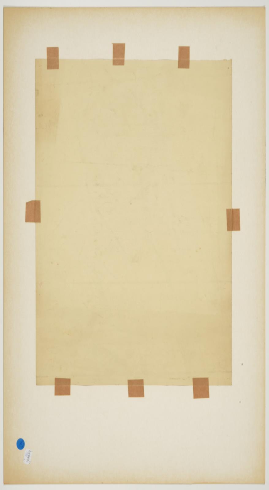 Jacob Kramer (1892-1962) ''Walford Hyden'', half length portrait Signed in pencil, inscribed in ink, - Image 3 of 5