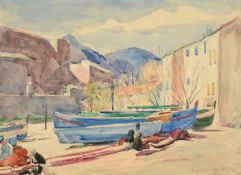 Philip Naviasky (1894-1983) ''Collioure'', South of France Signed and inscribed, pencil and