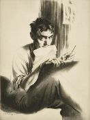 Edward Hill Lacey (1892-1967) ''The Drypointer'' (1930) Signed and inscribed in pencil to margin,