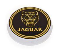 An Illuminated Car Display Sign: Jaguar, with low voltage transformer, 43cm diameter