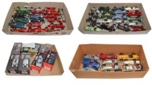 1950's Open Wheel Racing Cars: A Collection of Forty-Eight Scratch-Built Painted Wooden Models