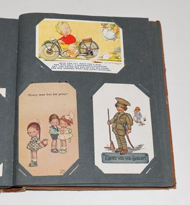 A Tan Album Containing Approx. 150 Subject Cards. These include a wide mixture such as Mickey Mouse, - Image 2 of 2