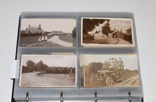 A Red Album Containing Approx. 226 Postcards of North And East Yorkshire Villages. An outstanding - Image 5 of 8