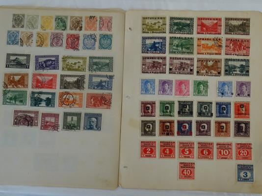 Worldwide, carton of many thousands of mint and used stamps on album pages and loose, accumulated - Image 6 of 6