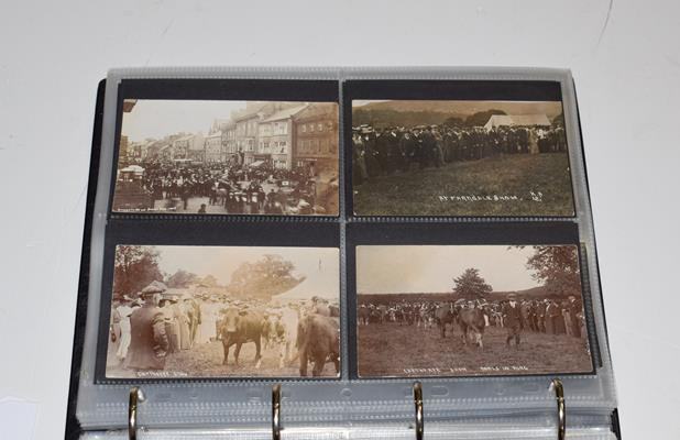 A Red Album Containing Approx. 226 Postcards of North And East Yorkshire Villages. An outstanding - Image 7 of 8