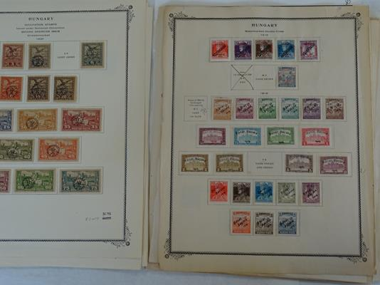 Worldwide, carton of many thousands of mint and used stamps on album pages and loose, accumulated - Image 5 of 6