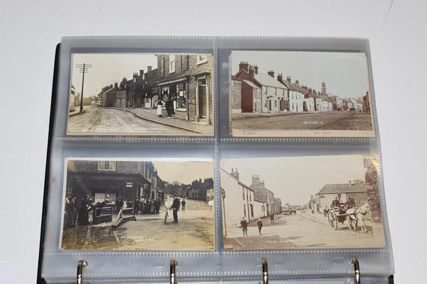 A Red Album Containing Approx. 226 Postcards of North And East Yorkshire Villages. An outstanding - Image 6 of 8