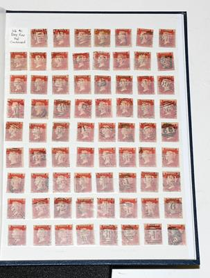 Great Britain collection in two Gibbons albums 1841-1982, with (used unless otherwise stated) useful
