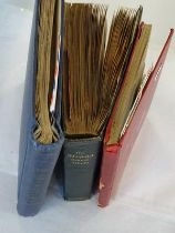 Worldwide collection in 3 albums, including a vintage Strand album well-filled with approx. 2000