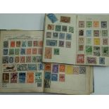 Worldwide, pre-war schoolboy/girl collection in a battered Olympic album, reasonably well-filled