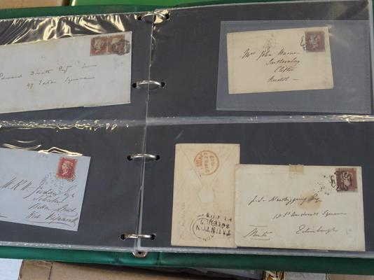 Worldwide Covers, Three Boxes of about 2500+ all-world covers 19th century onwards, including two - Image 6 of 12