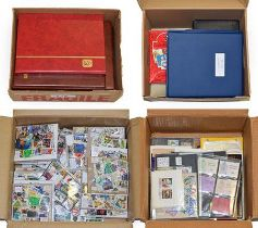 Worldwide In Four Cartons with a mint mainly KGVI Commonwealth collection incl. some better high