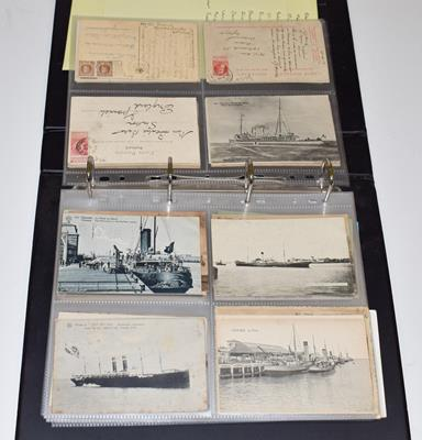 Four Albums (Three Red And One Black) of Approx. 500 Belgian Postcards. A variety of subjects from - Image 5 of 5