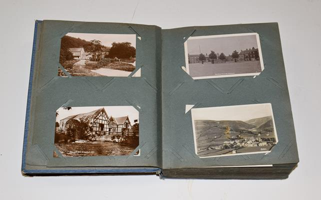 A Blue Album Containing Approx. 250 Postcards of Yorkshire. A wide selection over different - Image 2 of 5