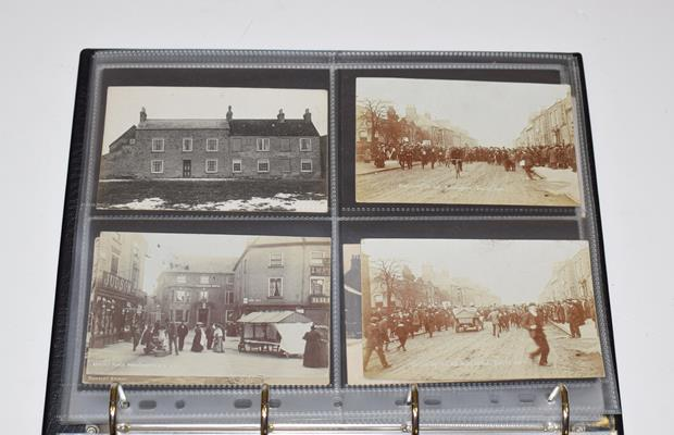 A Red Album Containing Approx. 134 Cards of North And East Yorkshire Villages. A valuable collection - Image 10 of 10