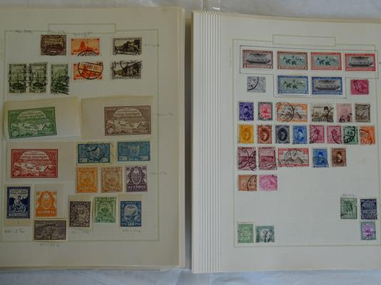 Worldwide, carton of many thousands of mint and used stamps on album pages and loose, accumulated - Image 2 of 6