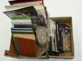 Worldwide accumulation in carton and shoebox, strong eclectic lot of albums, stockbooks and