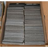 Commonwealth, a large accumulation on over 1000 stockcards in a box, 19th century to more modern