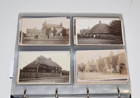 A Red Album Containing Approx. 226 Postcards of North And East Yorkshire Villages. An outstanding - Image 3 of 8