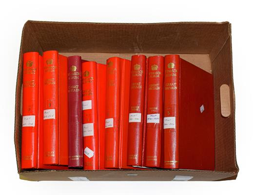 1970-2015 Mint Collection in eight Windsor albums, mainly unmounted mint, with Commemorative